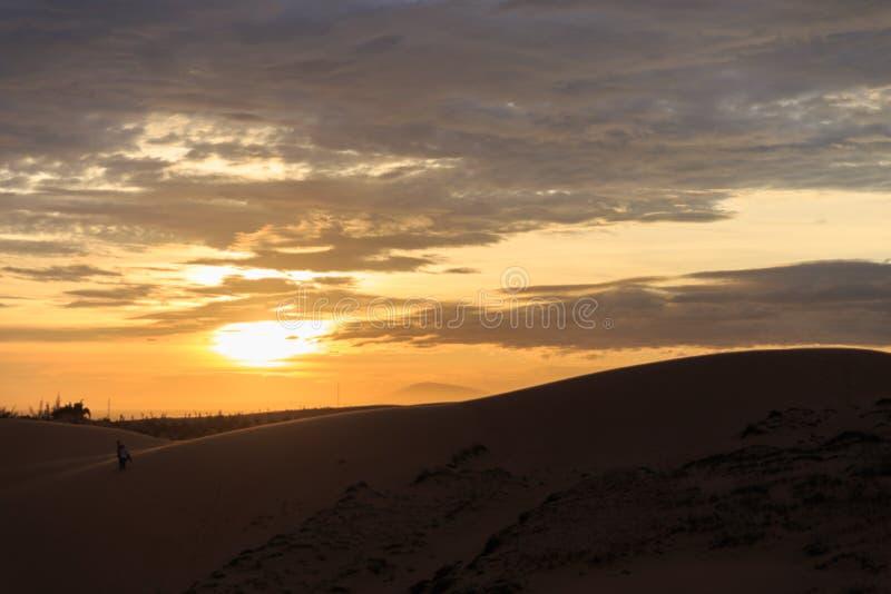 Deserto de Mui Ne, Vietname foto de stock