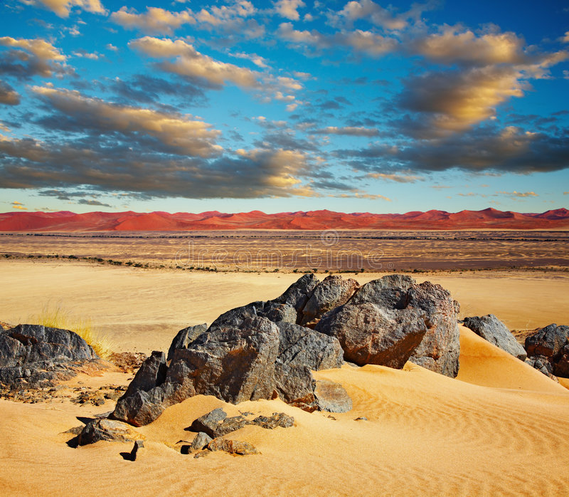 Deserto de Namib fotografia de stock royalty free