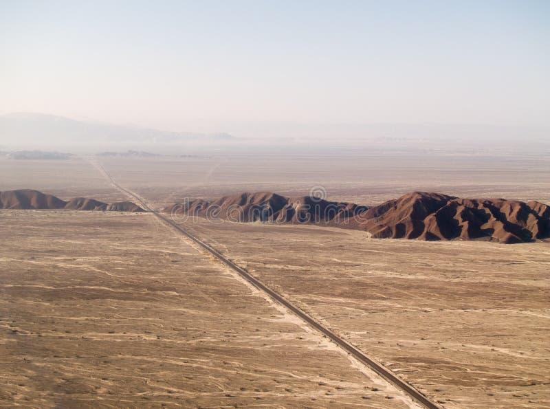 Deserto de Nazca foto de stock