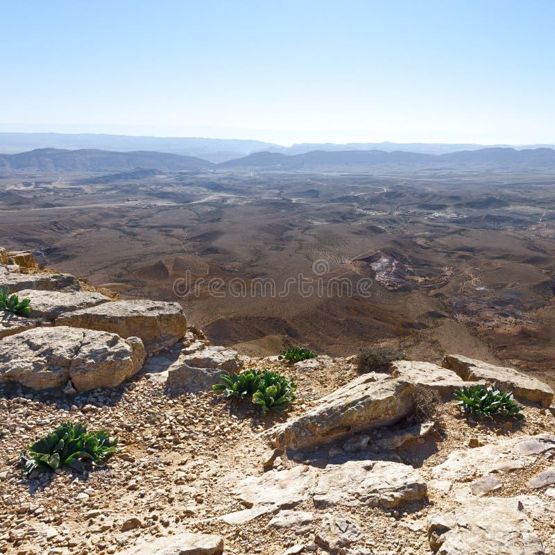Deserto de pedra em Israel imagem de stock royalty free