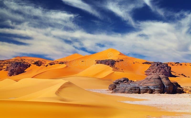 Deserto de Sahara, Argélia imagem de stock royalty free