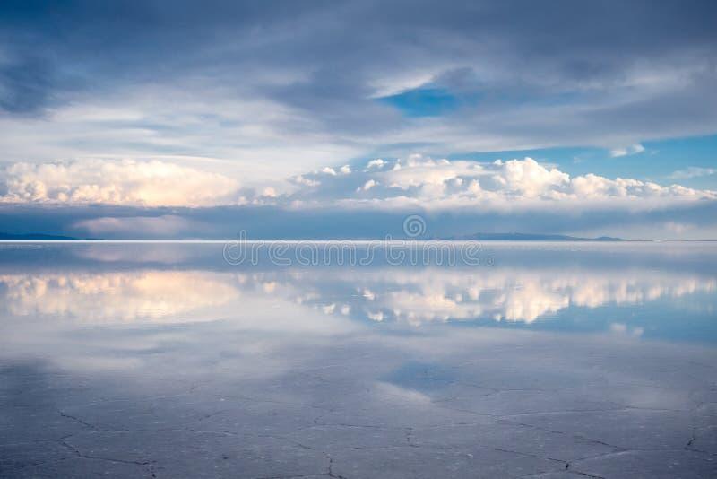 Deserto de Salar de Uyuni, Bolívia fotografia de stock royalty free