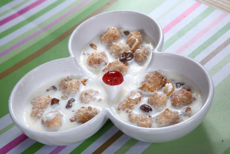 Deserto delicioso do figo, meetha do ka de Injeer, palagaram do kaai de Athi fotos de stock