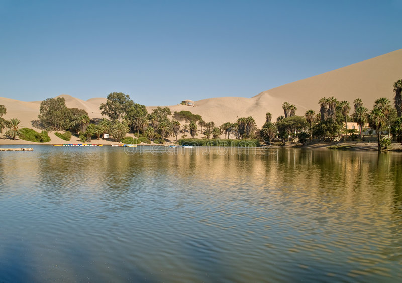 Deserto dell'AIC, Perù immagini stock