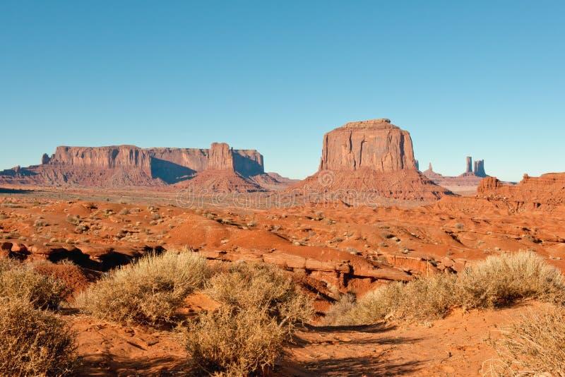 Deserto dell'Arizona immagini stock libere da diritti