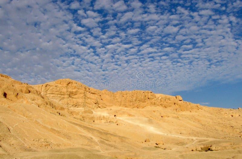 Deserto dell'Egitto immagini stock