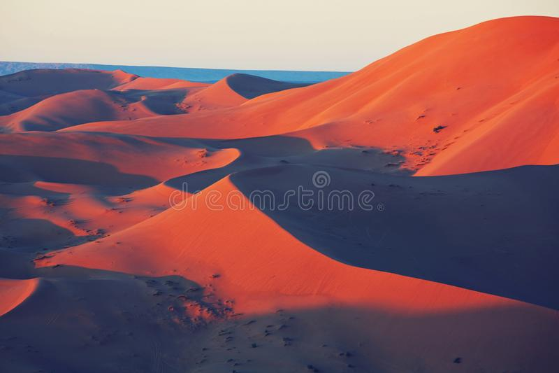 Deserto della sabbia fotografia stock