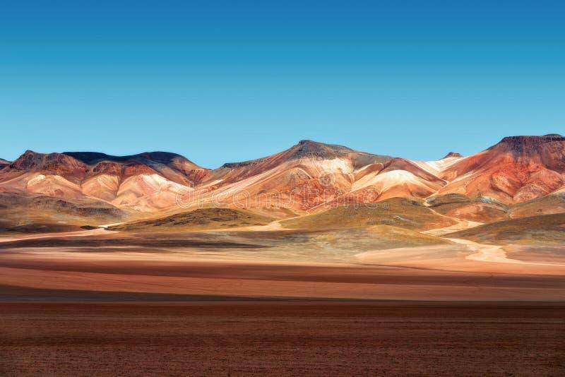 Deserto di Atacama Bolivia fotografia stock libera da diritti
