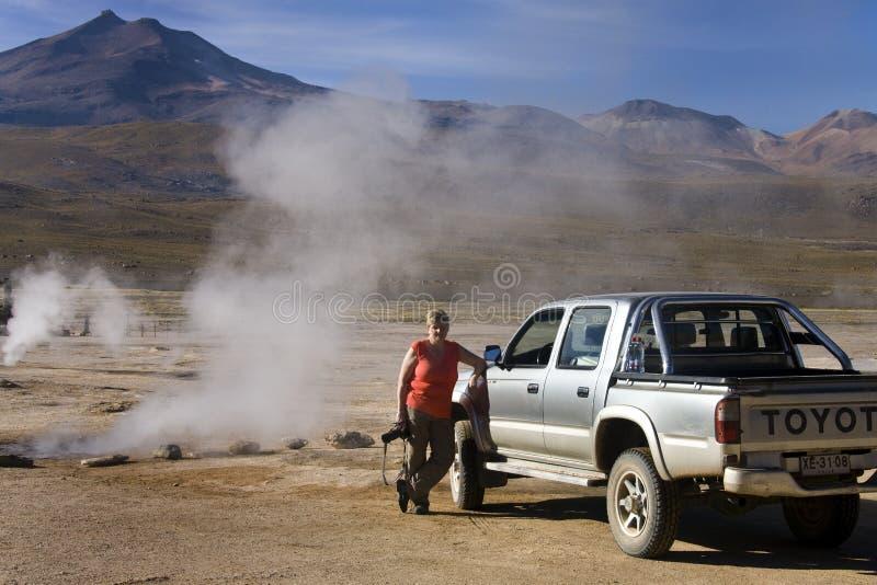 Deserto Di Atacama - Cile Immagine Editoriale