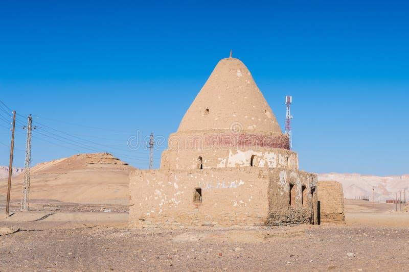 Deserto di Dakhla, Egitto fotografia stock libera da diritti
