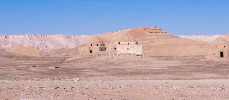 Deserto di Dakhla, Egitto immagini stock libere da diritti