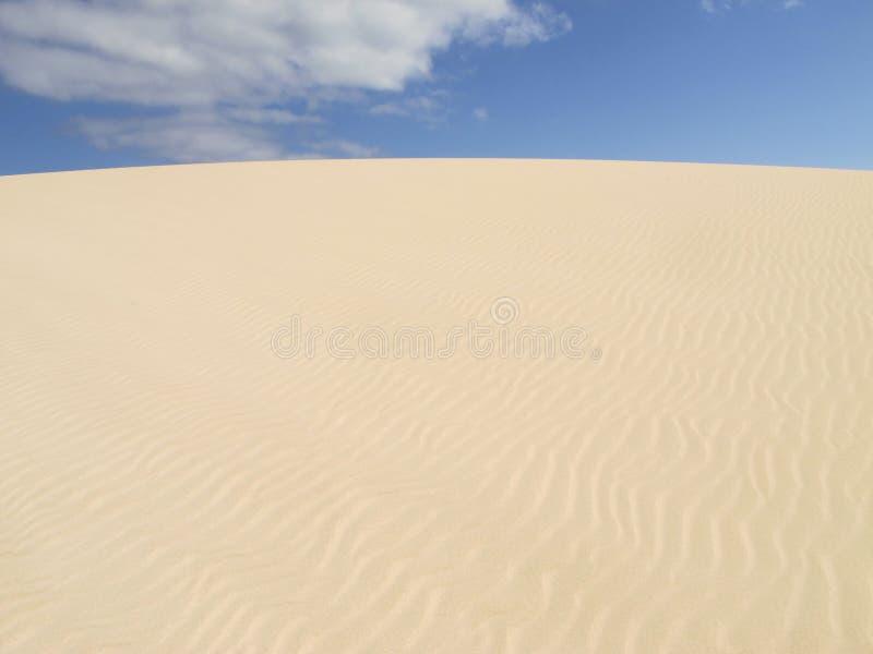 Deserto di Fuerteventura immagine stock