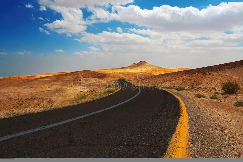 Deserto di Judean fotografia stock