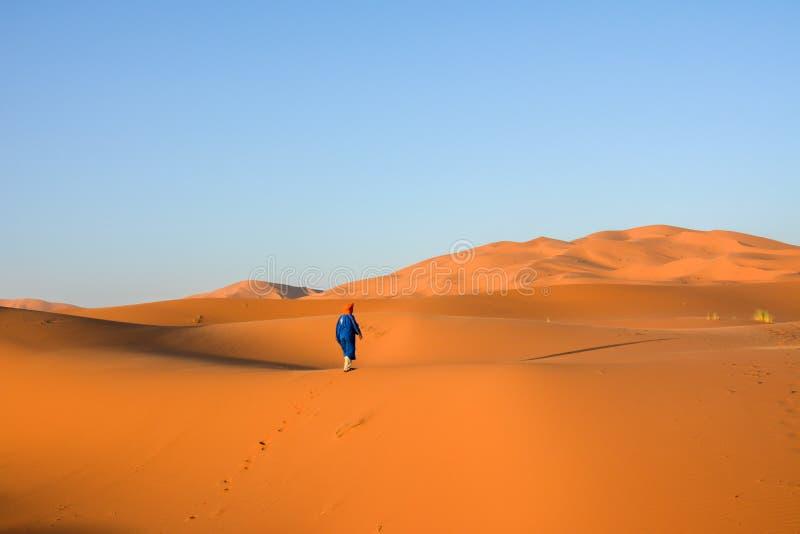 Deserto di Merzouga immagini stock libere da diritti