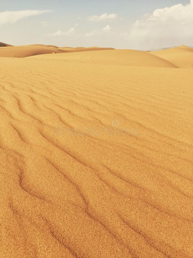 Deserto di Mongolia Interna fotografie stock