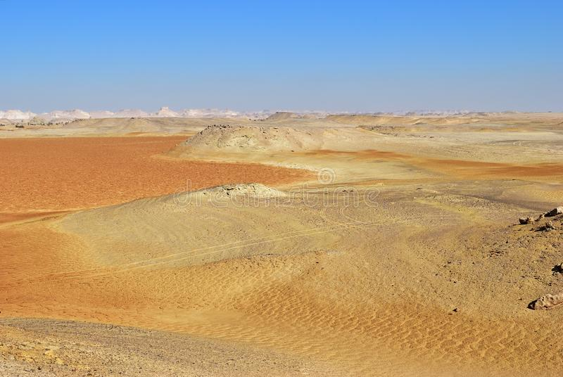 Deserto di Sahara, Egitto immagine stock