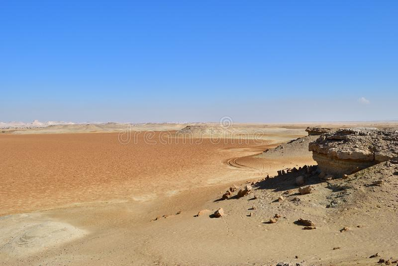 Deserto di Sahara, Egitto fotografie stock