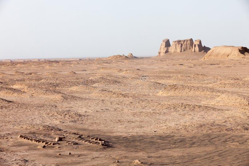 Deserto di Shahdad fotografie stock libere da diritti