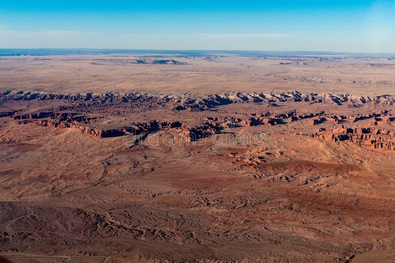 Deserto do Arizona do mastro fotografia de stock