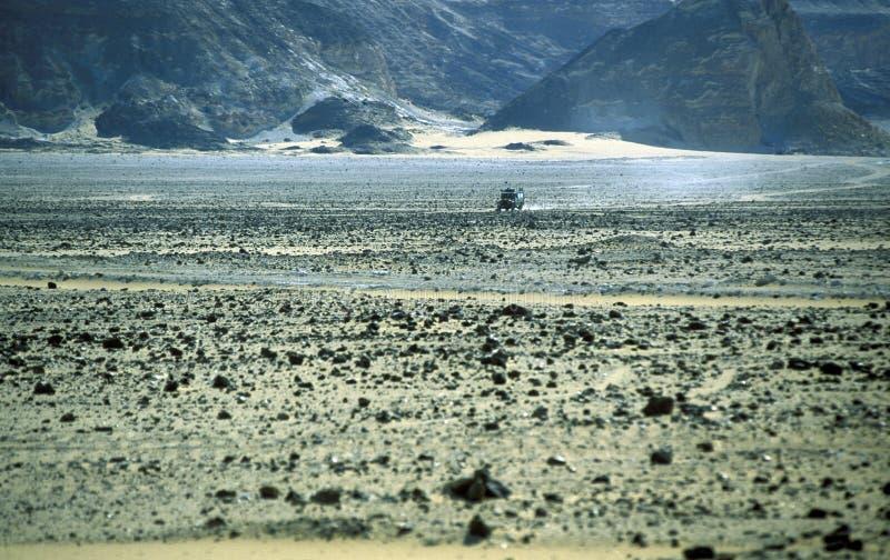 DESERTO DO BRANCO DE ÁFRICA EGIPTO SAHARA FARAFRA imagem de stock royalty free