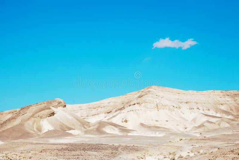 Deserto do Negev fotografia de stock royalty free