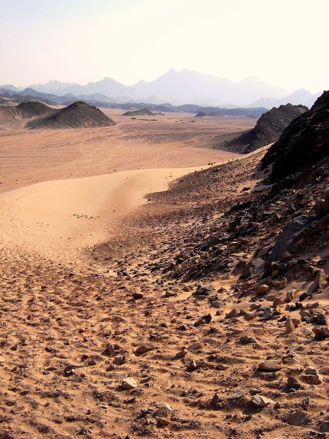 Deserto, Egitto fotografie stock libere da diritti