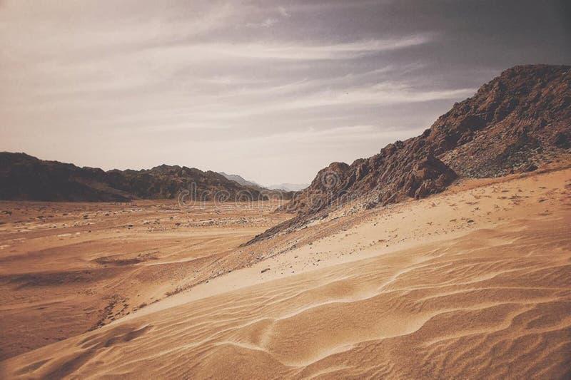 Deserto Egitto Sinai immagini stock