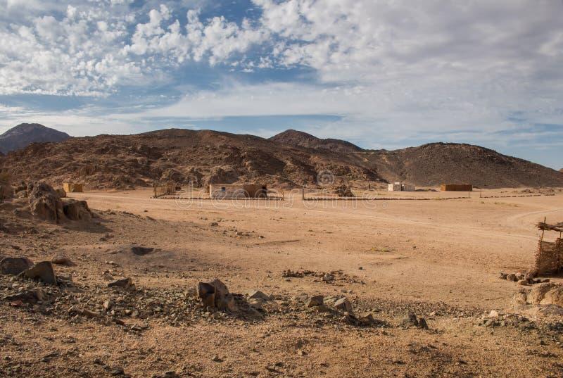 Deserto em Egipto fotos de stock royalty free