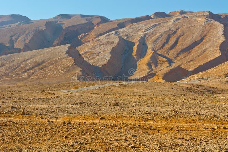 Deserto em Israel foto de stock