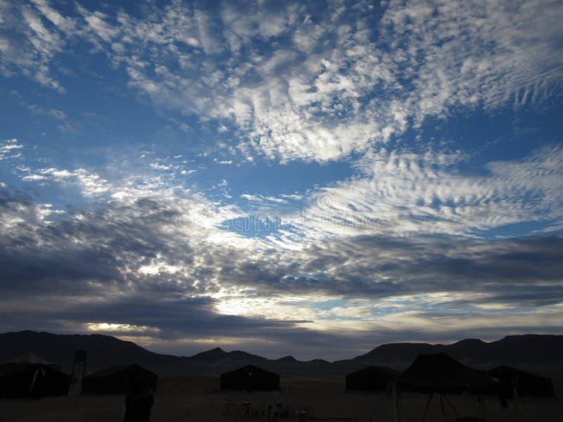 Deserto marocchino fotografia stock libera da diritti