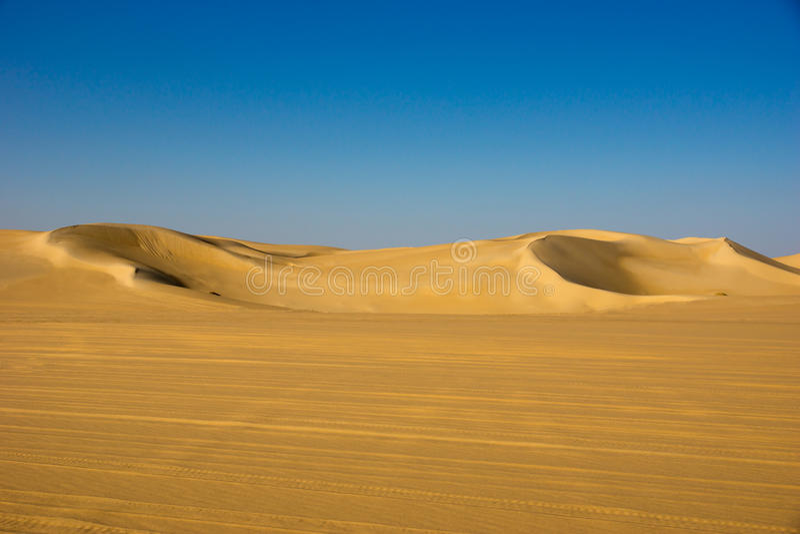 Deserto nell'Egitto fotografia stock