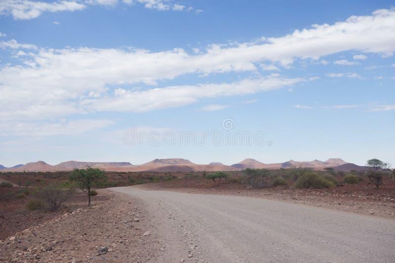 Deserto Road imagem de stock royalty free