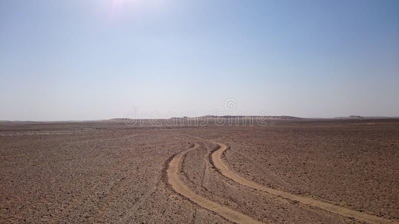 Deserto Road immagine stock