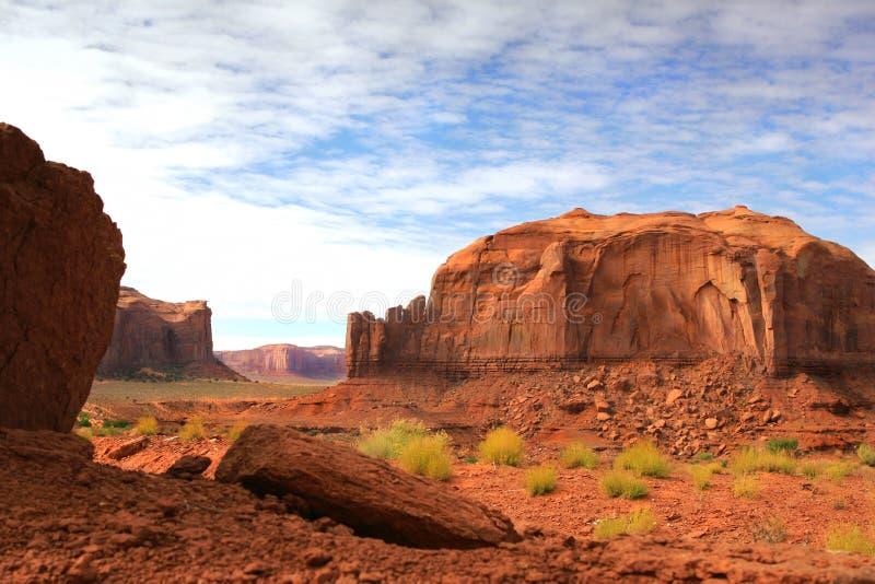 Deserto rosso del canyon della roccia fotografia stock libera da diritti