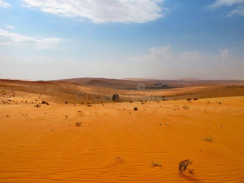 Deserto rosso della sabbia immagine stock libera da diritti