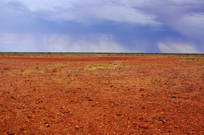 Deserto tormentoso e chuvoso de Simpson foto de stock royalty free