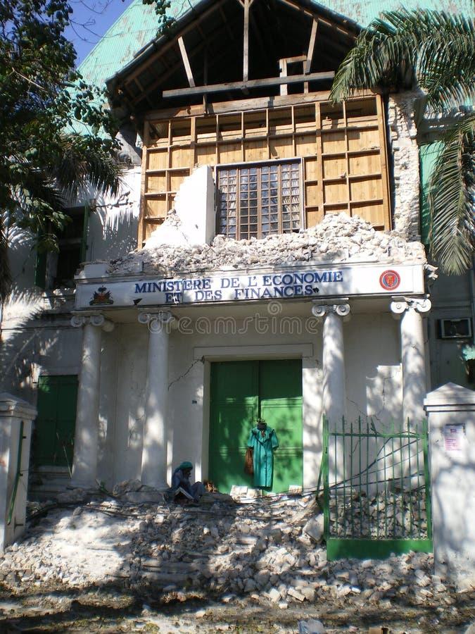 Desesperación de Haití foto de archivo libre de regalías