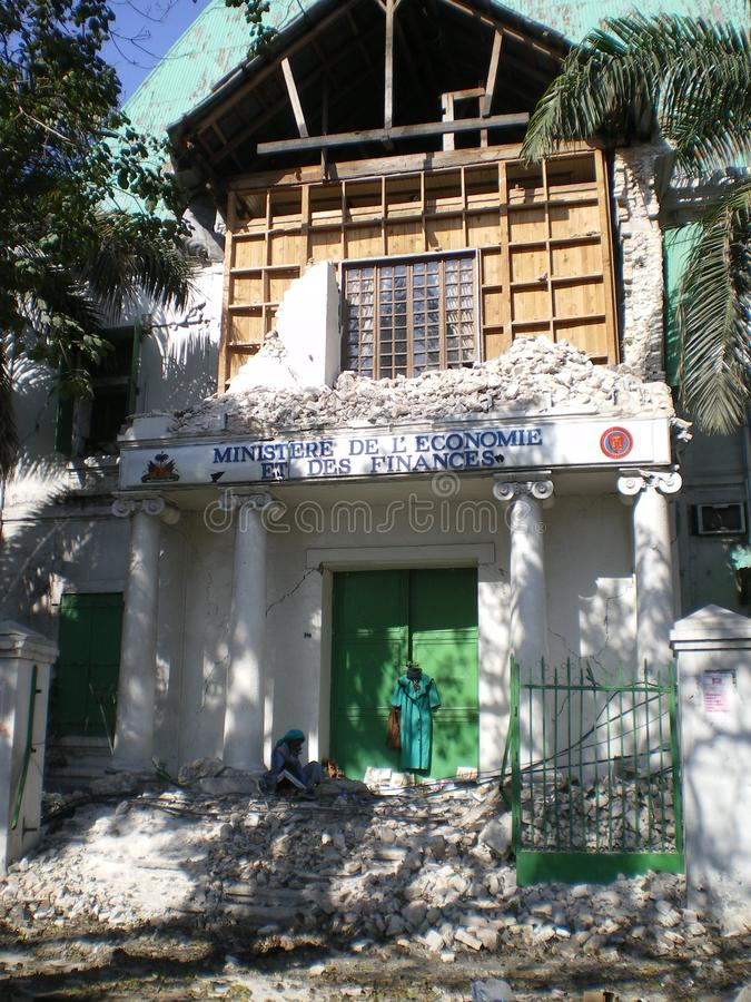 Desespero de Haiti foto de stock royalty free