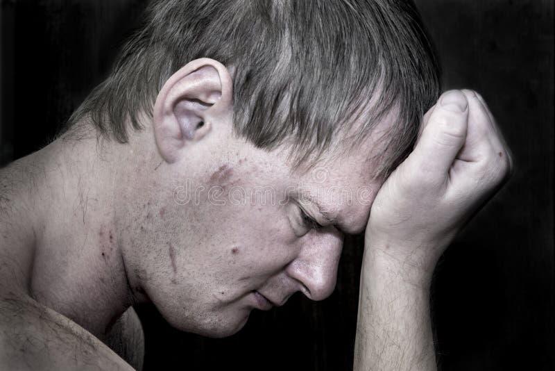 Desespero e depressão imagem de stock royalty free