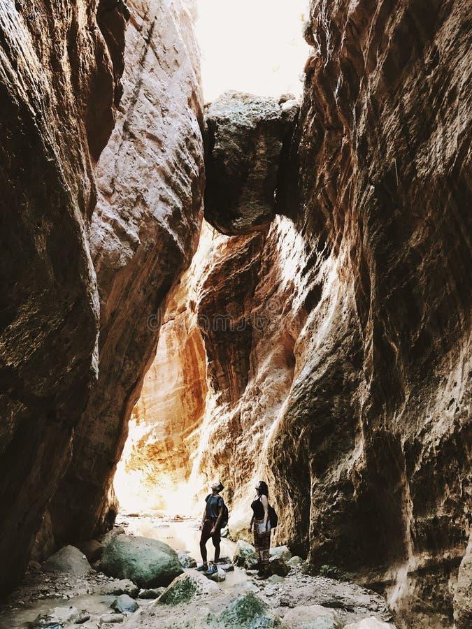 Desfiladeiro bonito em Chipre fotografia de stock