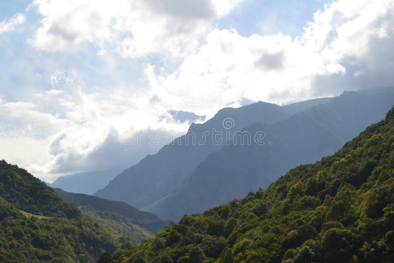 desfiladeiro chemgensky Kabardino-Balcária Cáucaso imagem de stock royalty free