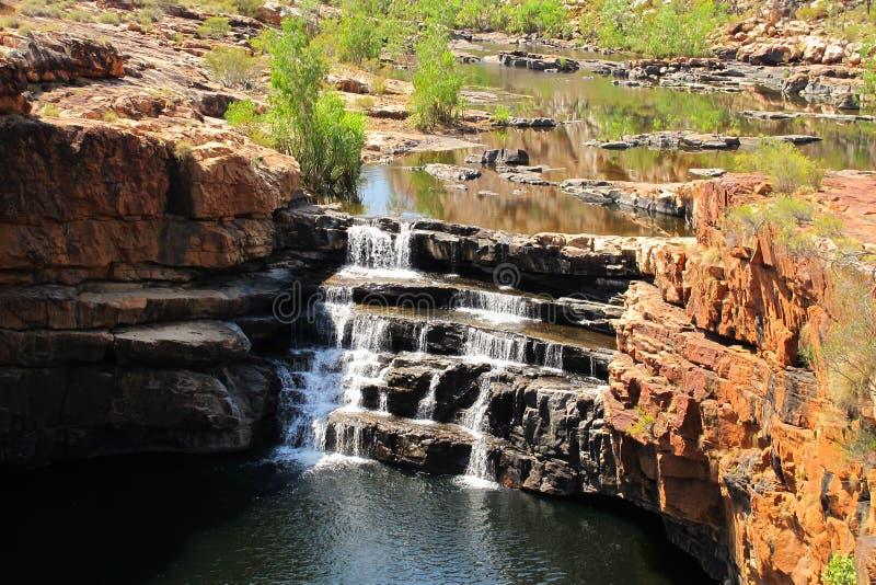 Desfiladeiro de Bell, kimberley, Austrália Ocidental imagem de stock