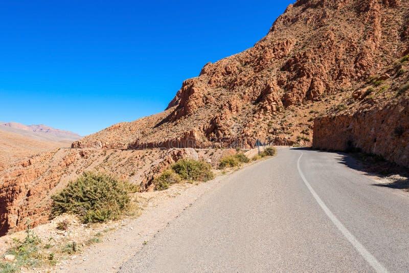 Desfiladeiro de Dades, Marrocos imagens de stock