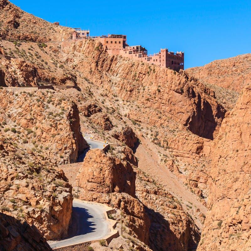 Desfiladeiro de Dades, Marrocos foto de stock royalty free