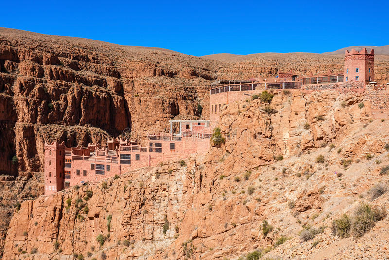 Desfiladeiro de Dades, Marrocos imagens de stock royalty free