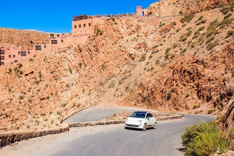 Desfiladeiro de Dades, Marrocos fotos de stock royalty free
