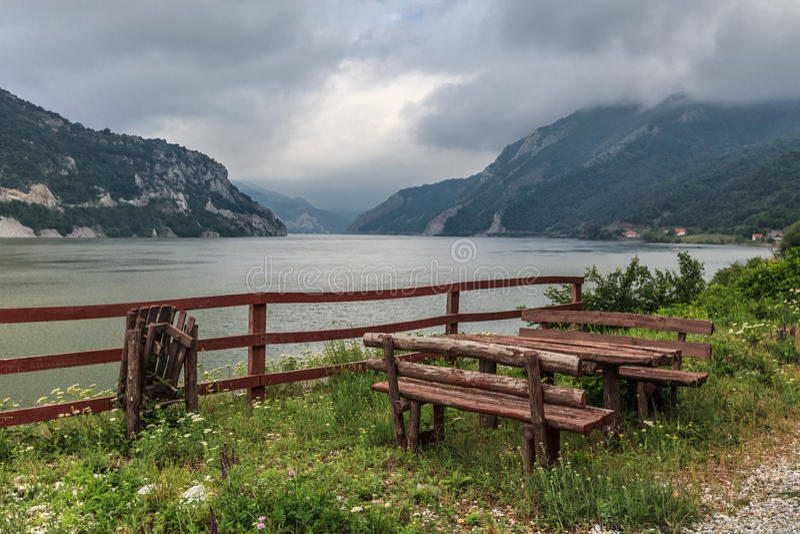 Desfiladeiro de Danúbio imagens de stock royalty free