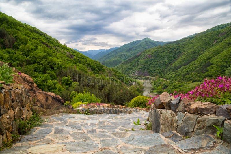 Desfiladeiro de Iskar, Bulgária imagens de stock royalty free