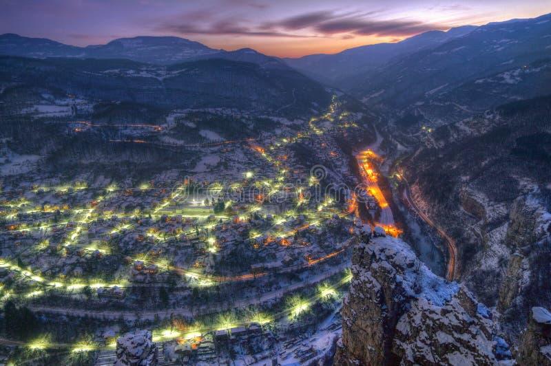 Desfiladeiro de Iskar e Lakatnik, Bulgária foto de stock