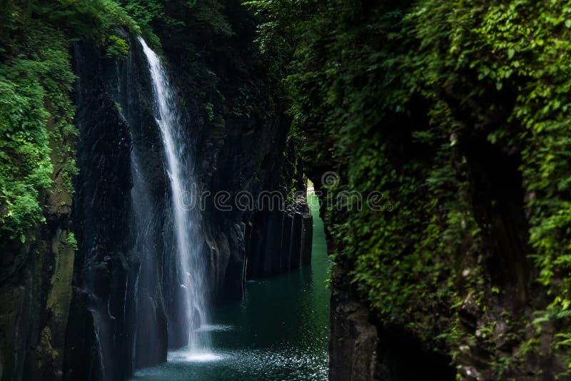 Desfiladeiro de Takachiho foto de stock royalty free